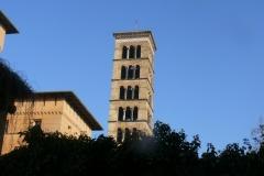 Bilder von der Friedenskirche im Park Sanssouci, 2012