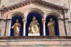 Katholische Pfarrkirche St. Peter und Paul in Potsdam, September 2019