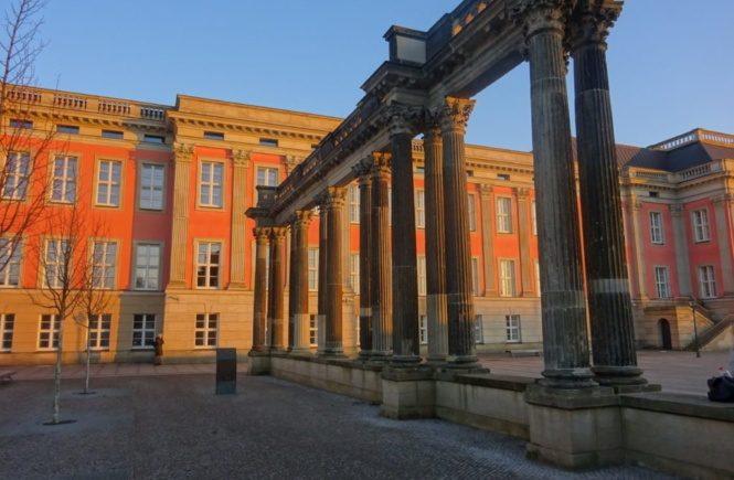 Potsdamer Stadtschloss im Jahr 2017