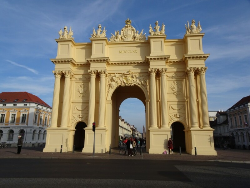 Brandenburger Tor in Potsdam, November 2018