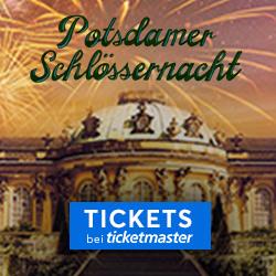 Schlössernacht, Potsdam, Park Sanssouci, Tickets