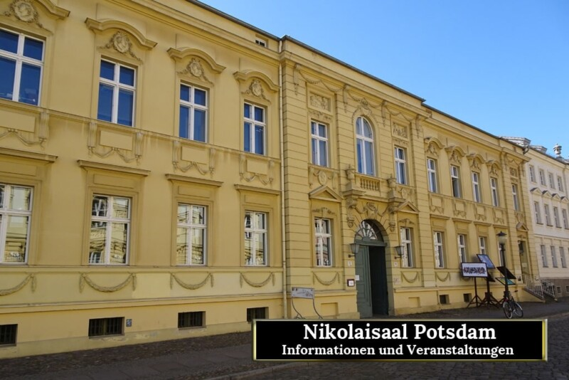 Nikolaisaal, Potsdam, Veranstaltungen