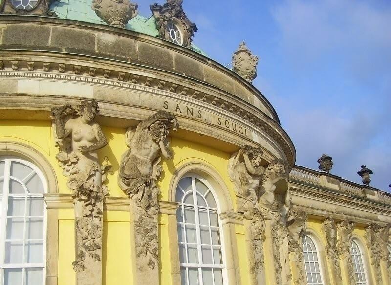 Schloss Sanssouci, Potsdam, Sanssouci, Park, Park Sanssouci
