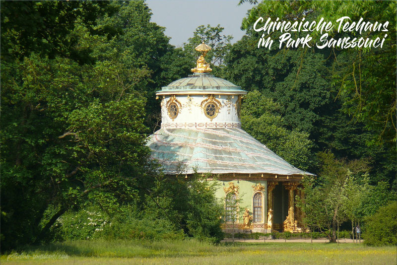 Teehaus, Sanssouci, Park Sanssouci, Potsdam, Chinesisches Teehaus