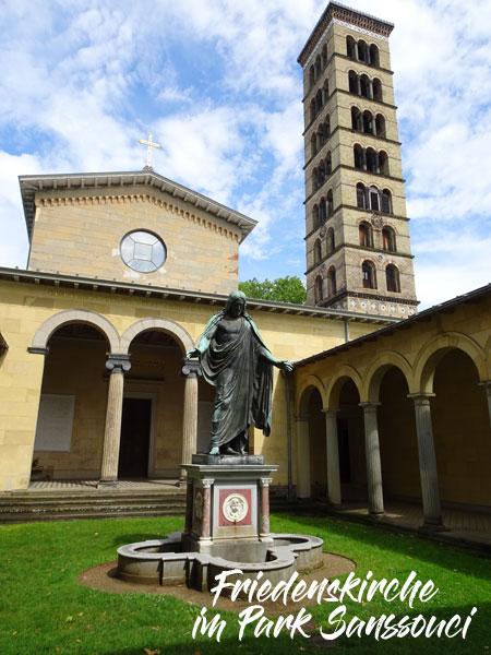 Park Sanssouci, Sanssouci, Potsdam, Friedenskirche, Sanssouci, Churche of Peace