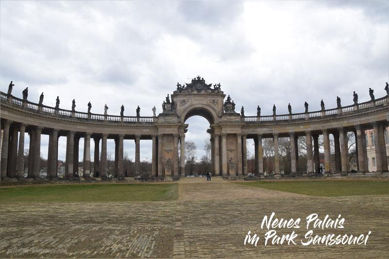 Park Sanssouci, Sanssouci, Park, Kolonnade