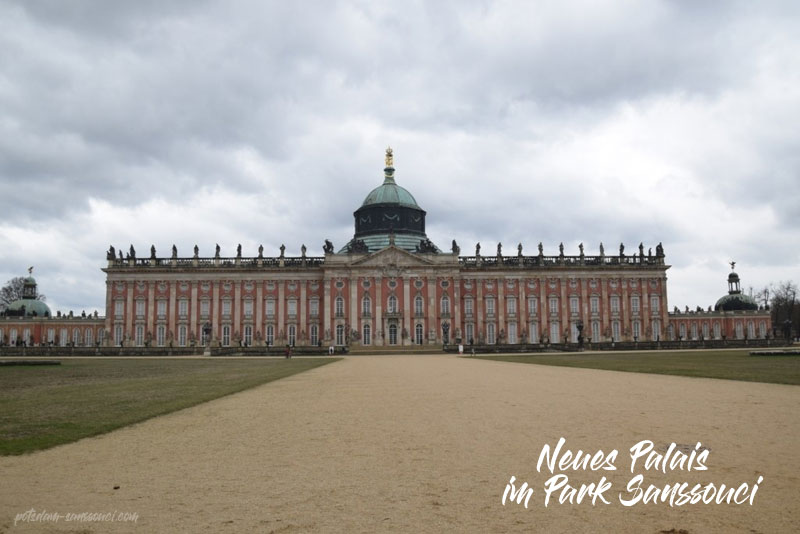 Neues Palais, Park Sanssouci, Sanssouci, Park