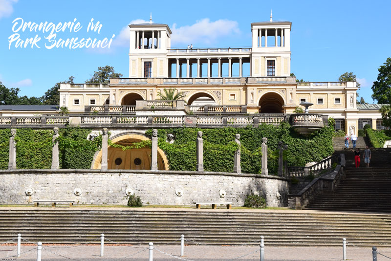 Park Sanssouci, Sanssouci, Orangerie, Potsdam, Orangerieschloss, Orangery