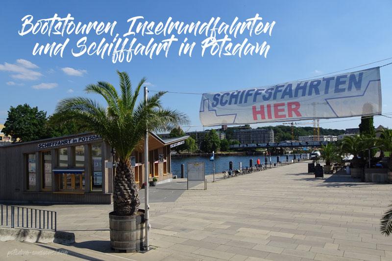Potsdam, Bootstour, Schifffahrt, Hafenrundfahrt, Dampferfahrt