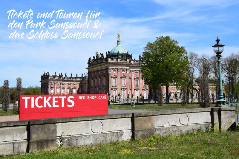 Schloss Sanssouci, Potsdam, Sanssouci, Park, Park Sanssouci, Tickets, Touren