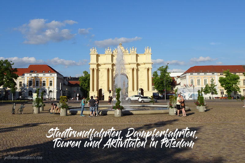 Potsdam, Stadtrundfahrt, Touren, Dampferfahrt, Aktivitäten, Potsdam Stadtrundfahrt