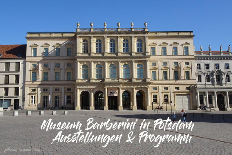 Museum Barberini, Ausstellungen, Programm, Potsdam