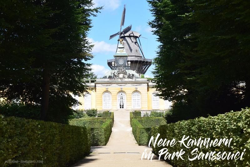 Neue Kammern, Schloss Sanssouci, Sanssouci, Park Sanssouci, Potsdam