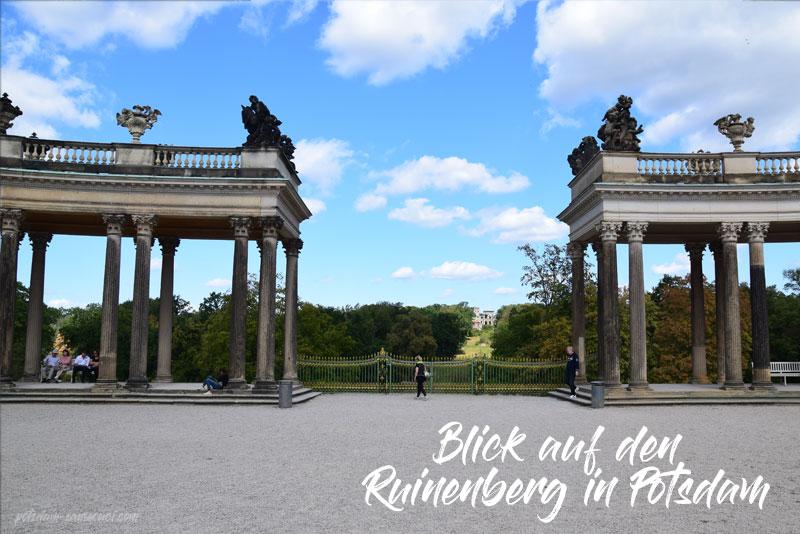 Ruinenberg, Potsdam, Ruinenberg Potsdam, Park Sanssouci