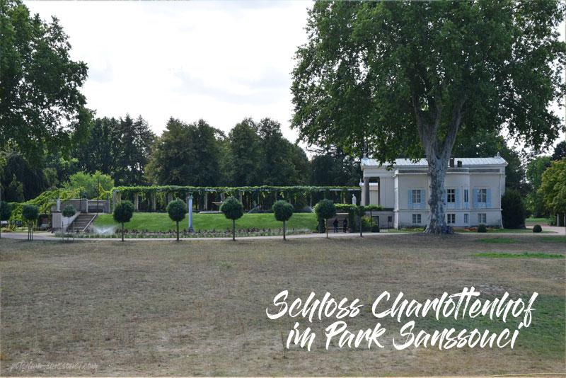 Park Sanssouci, Sanssouci, Schloss Charlottenhof, Palace, Potsdam