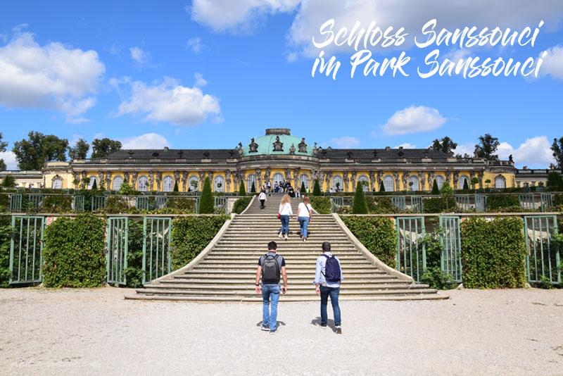 Sanssouci, Park, Schloss Sanssouci, Potsdam, Sanssouci Palace